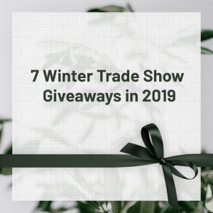 Read more about the article 7 Winter Trade Show Giveaways in 2019