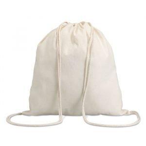 sac écologique à cordon en coton personnalisé avec logo