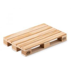 Sous-verre en bois en forme de palette