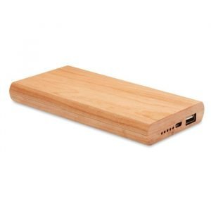 eco-friendly bamboo power bank