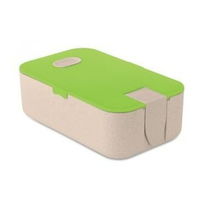 Lunch Box with Wheat Straw Fibre