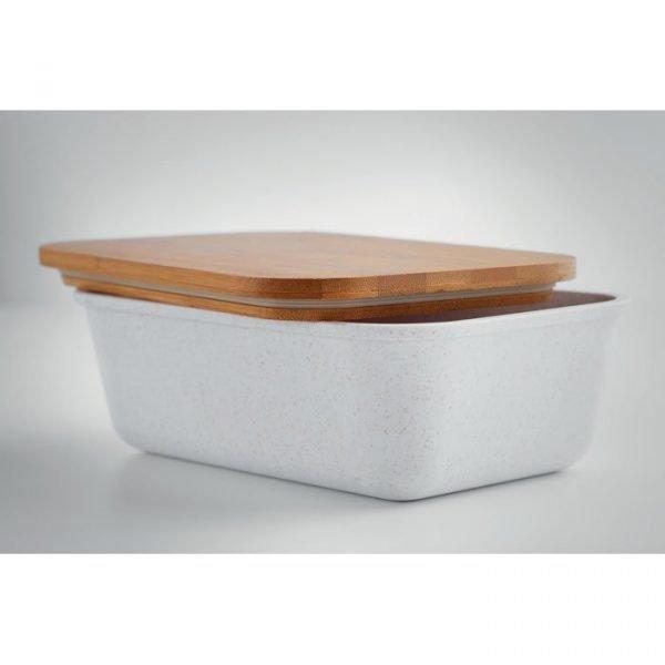 gamelle lunchbox couvercle en bambou écologique