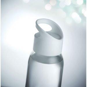 Bouteille écologique réutilisable en verre avec logo