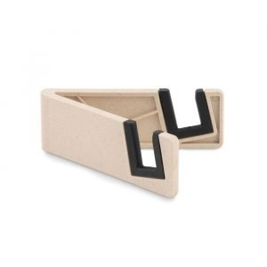 branded bamboo smartphone holder