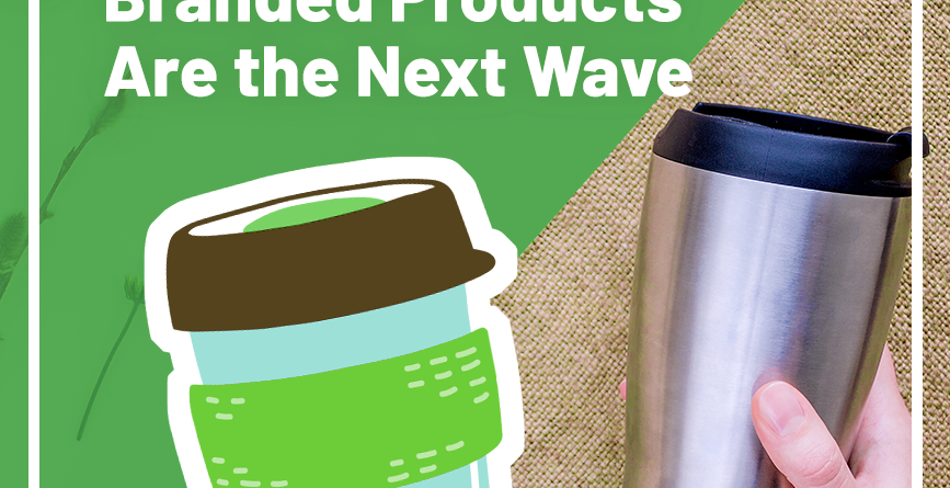 reusable branded products image with two eco-friendly cups