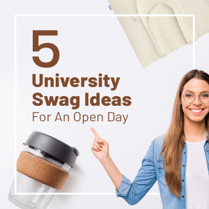 Read more about the article 5 University Swag Ideas For an Open Day that Students Will Love