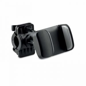 black bike phone mount holder