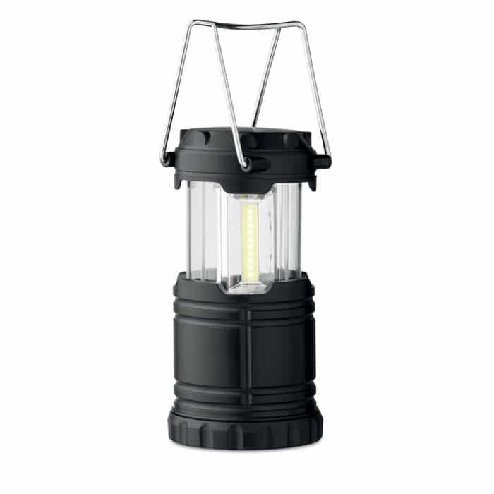 customisable black camping lantern