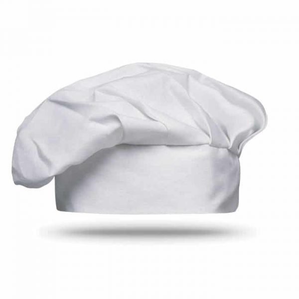 white chef hat