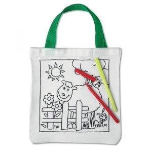 Colouring Tote Bag