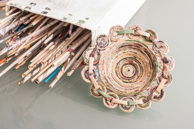Creativity With Recycled Materials