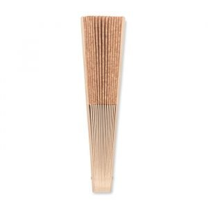 Cork hand-held fan
