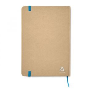 A5 Recycled Notebook With Elastic Band