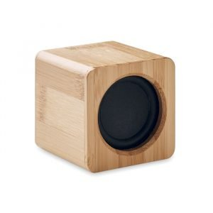 Bamboo speaker with LED