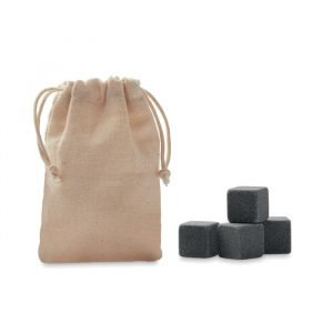 Reusable Ice Cubes In Cotton Pouch