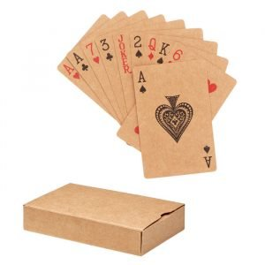 Recycled paper Playing cards