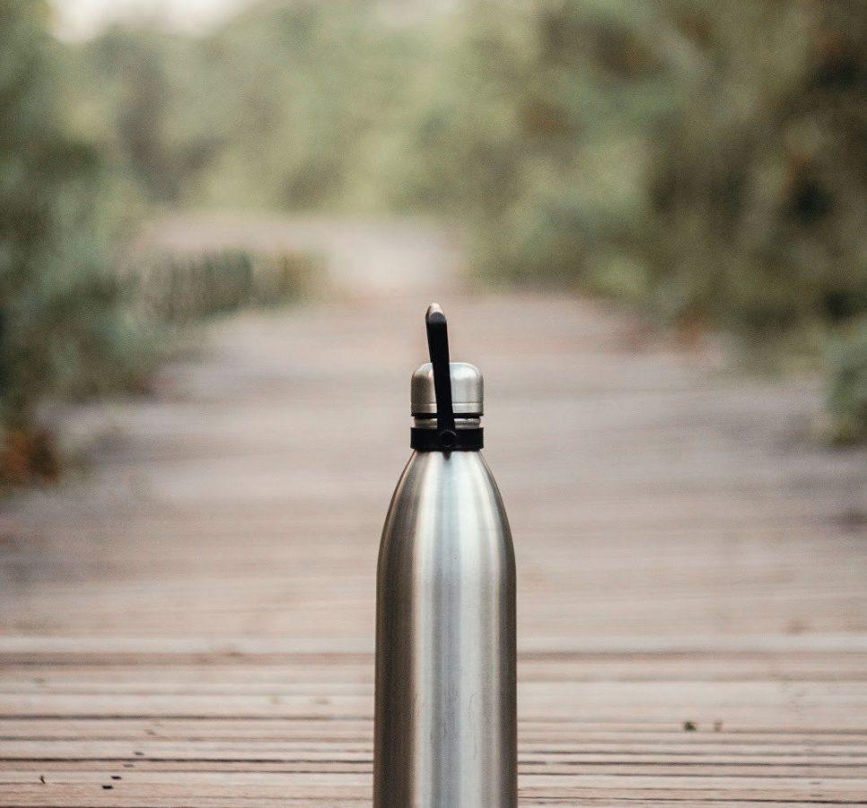 vacuum-flask-on-brown-wooden-dock-1188649